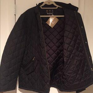 Quilted Barbour Jacket-Men's